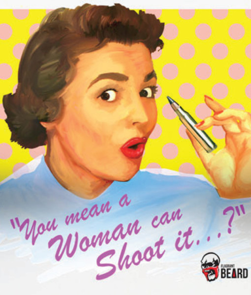 Woman Can Shoot It